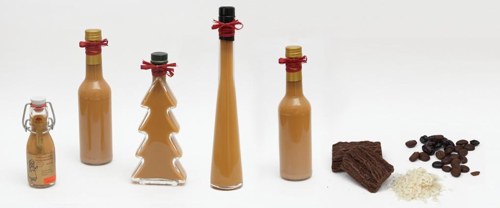 Schwarzwälder Schokoladenlikör mit Kaffee